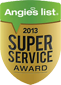 Angie's List Super Servie Award winner